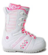 Ботинки Atom Bad Girl white/pink